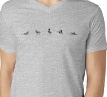 Horses Mens V-Neck T-Shirt