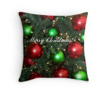 Jingle Balls! Throw Pillow