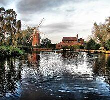 Hunsett Mill by A90Six