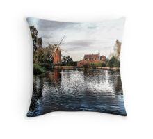 Hunsett Mill Throw Pillow
