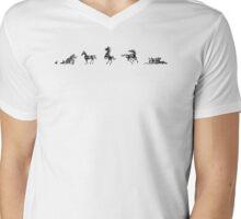 Horses 2 Mens V-Neck T-Shirt
