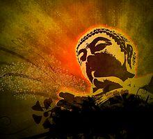 Buddha Bubbles by FredzArt