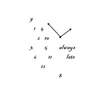 always late by Giorgina