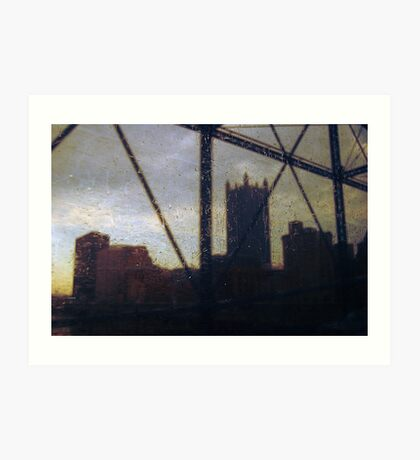 Pittsburgh / Esos ido/ Art Print