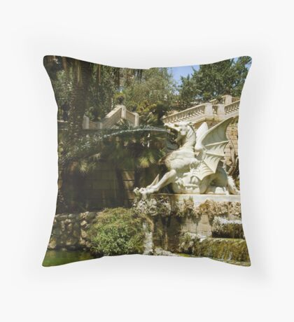 Gaudi: Fountain Throw Pillow