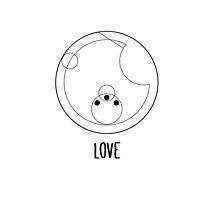 Love -- Gallifreyan by lucythewhovian