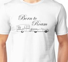 Born to Roam- Shasta & Caddy in Black Unisex T-Shirt