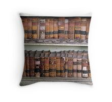 Books of Lore Throw Pillow