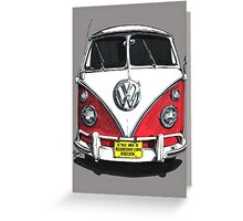 IF THE VAN IS A ROCKIN...  Greeting Card