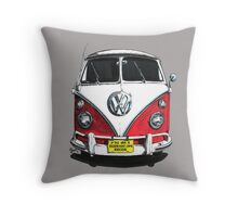 IF THE VAN IS A ROCKIN...  Throw Pillow