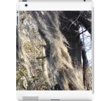 Spanish moss blowing in wind iPad Case/Skin