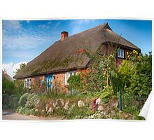 Gross Zicker: Thatched Cottage Poster