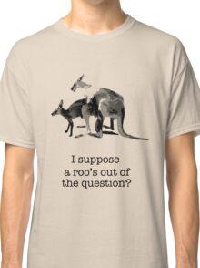 Kangaroos having fun Classic T-Shirt