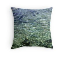 Shallow End by Bernadette Smith (c) Throw Pillow