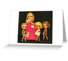 blythe and the city Greeting Card