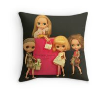 blythe and the city Throw Pillow