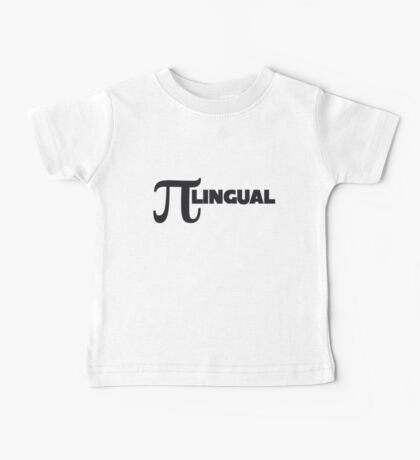 PI lingual Baby Tee