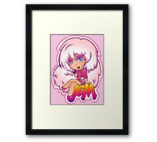 Truly Outrageous: Jem! (version 2)  Framed Print