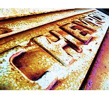 TAILGATE Photographic Print