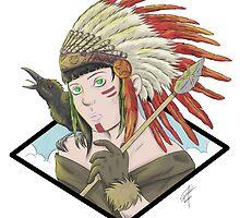 Cheyenne Girl  by GakiRules