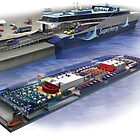 The Hawaii Superferry by Greg Kolio Taylor