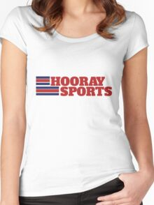 Hooray sports Women's Fitted Scoop T-Shirt