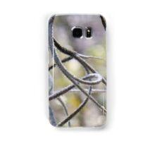 Spanish moss in macro with bokeh Samsung Galaxy Case/Skin