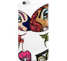 Graffiti Dolls Peaches & Mona Harajuku Illustration  iPhone Case/Skin