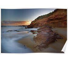 Anglesea, Rocks Poster