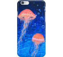 Two Jellyfish iPhone Case/Skin