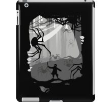 The Little Limbbit and the Spiders iPad Case/Skin