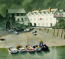 Harbour at Rest by Joseph Ouellette