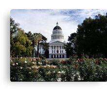 State Capital ~ California Canvas Print