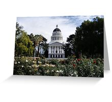 State Capital ~ California Greeting Card