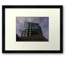Emerald Building Framed Print