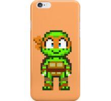 Mikey TMNT 2012 Mini Pixel iPhone Case/Skin