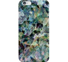 Digitally created condensed facing iPhone Case/Skin