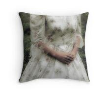 Jane Austen lady Throw Pillow