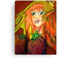 Strawberry Hill Canvas Print