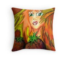 Strawberry Hill Throw Pillow