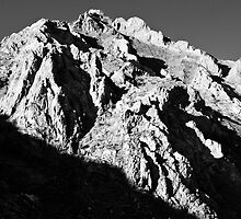 Unnamed Peak, McGee Canyon by Justin Mair
