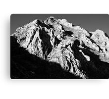 Unnamed Peak, McGee Canyon Canvas Print