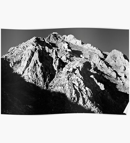 Unnamed Peak, McGee Canyon Poster
