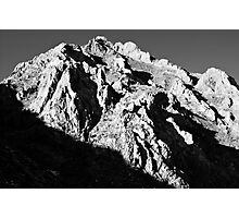 Unnamed Peak, McGee Canyon Photographic Print