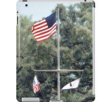 Naval Base Flags iPad Case/Skin