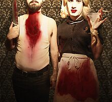 Pseudo American Gothic by hellomynameis
