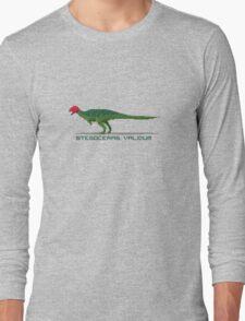 Pixel Stegoceras Long Sleeve T-Shirt