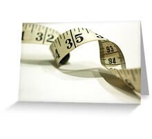 day 51: tape measure Greeting Card