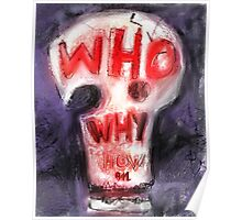 911 - WHO - WHY -H0W(C2013) Poster