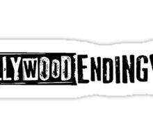 Hollywood Ending Logo Sticker Sticker